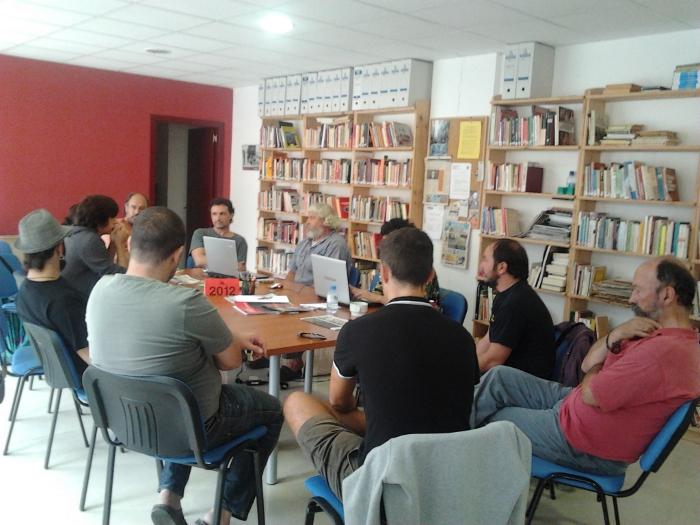 Conferència Local de Militants. CNT d'Olot