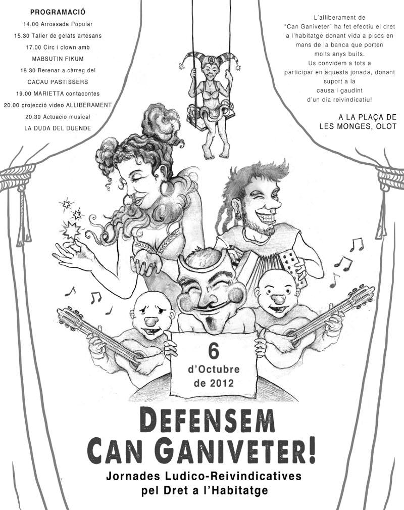 Defensem Can Ganiveter! Jornades Lúdico-Reivindicatives pel Dret a l'Habitatge