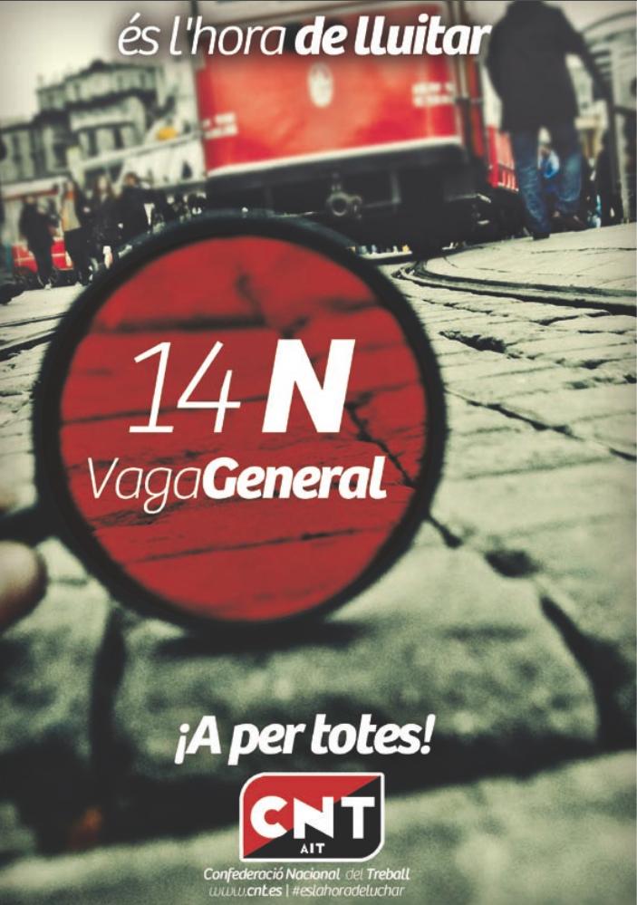 CNT anima a una defensa contundent del dret de vaga davant les vulneracions empresarials