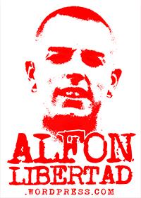 Alfon Llibertat! Prou muntatges policials.