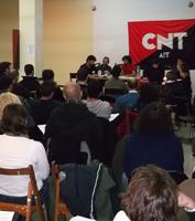 CNT conferència de militants