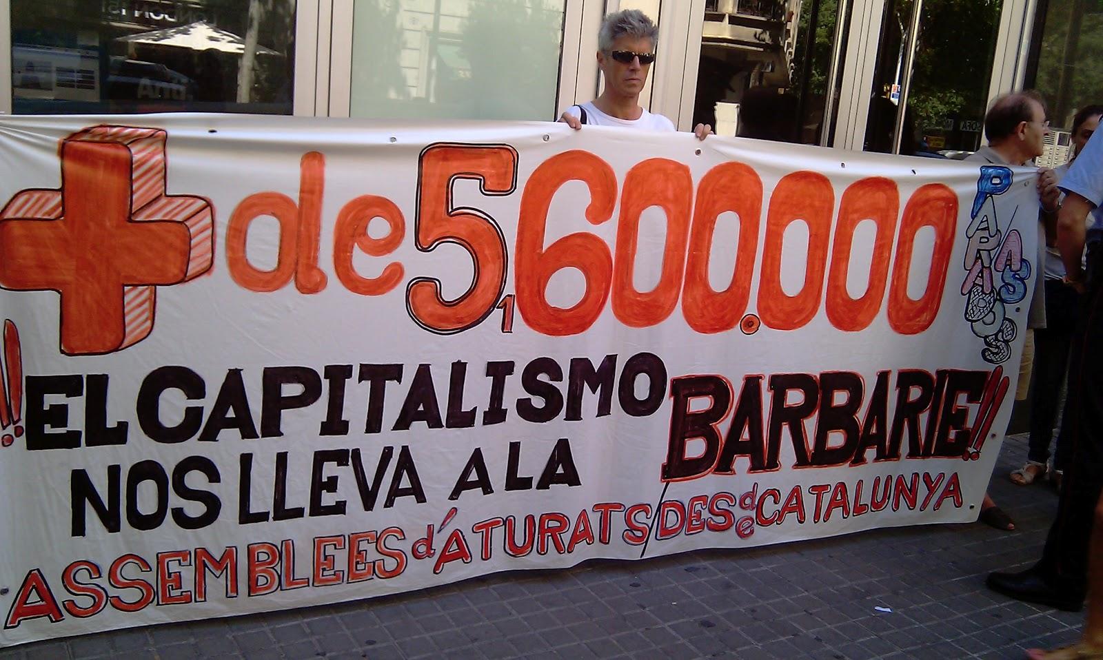 Campanya i accions contra l'atur de CNT d'Olot