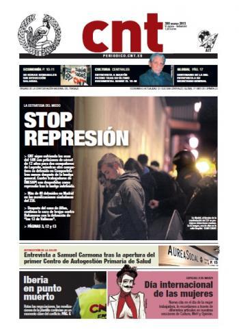 Periòdic CNT nº 398 – Març 2013