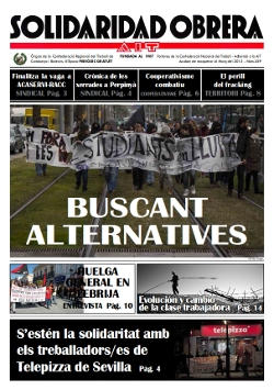 Nou número de Solidaridad Obrera. 359 [Març-Abril]