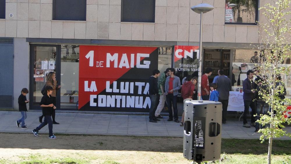 Crònica dels actes de l'1 de Maig a Olot