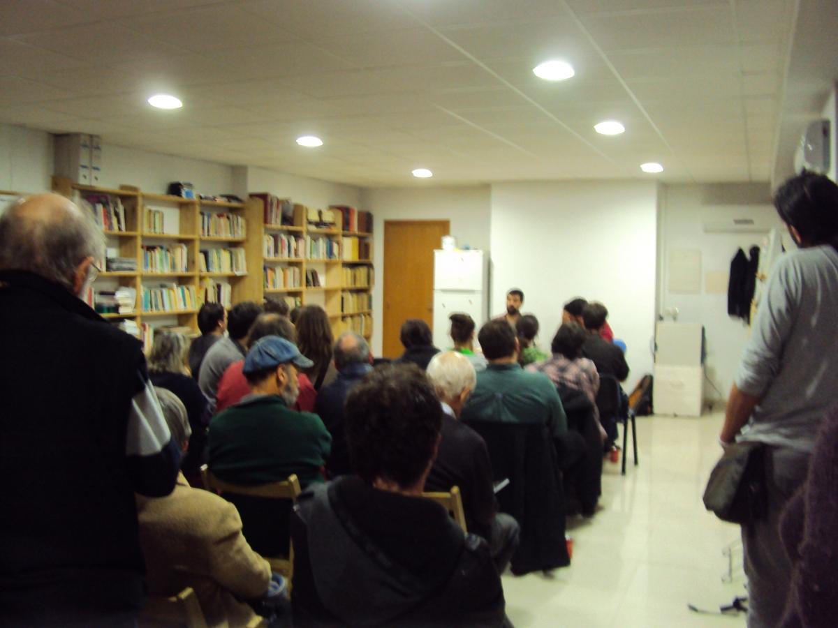 """Crònica de la presentació """"Warcelona, una història de violència""""."""