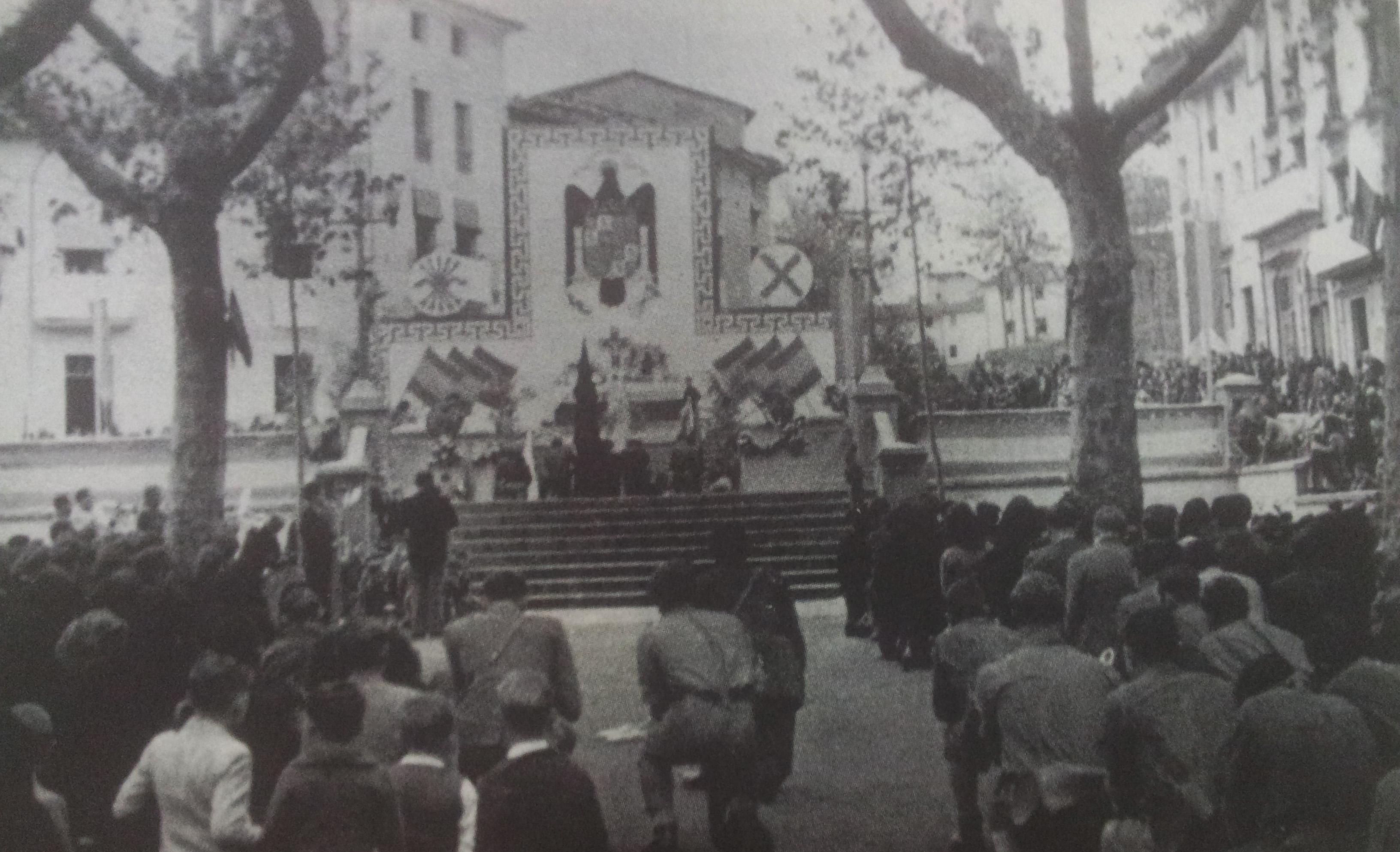 Comunicat: 75 anys de l'entrada de les tropes Franquistes a Olot