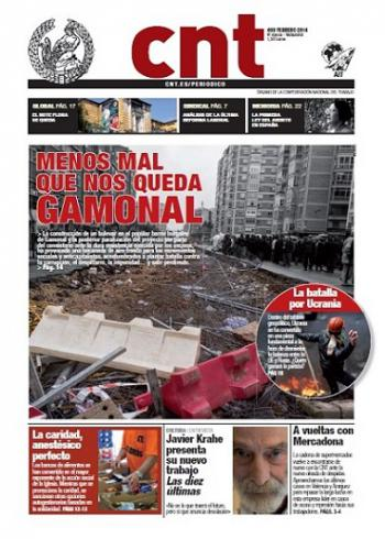 Nou número del Periòdic CNT. Nº 408 – Febrer 2014