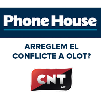Conlicte amb Phone House a Olot