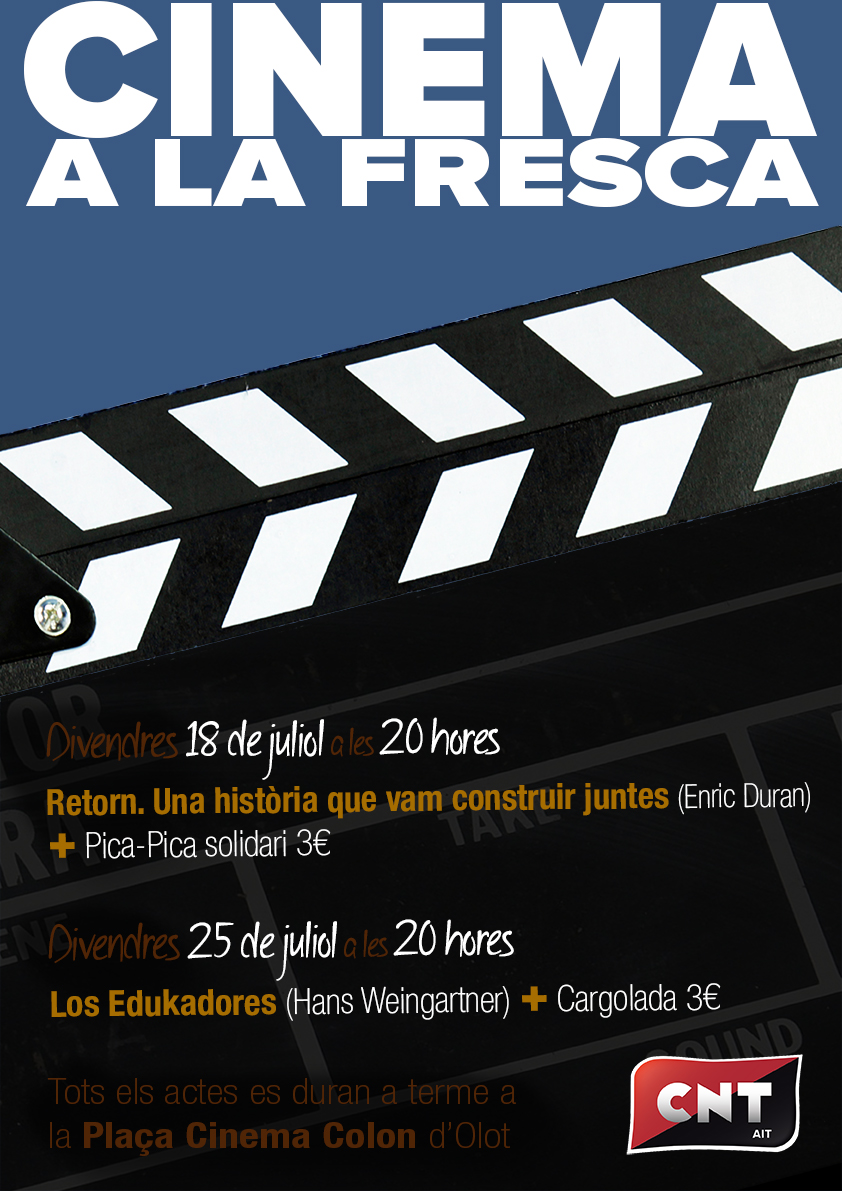 Cinema a la Fresca @ Plaça del Cinema Colon