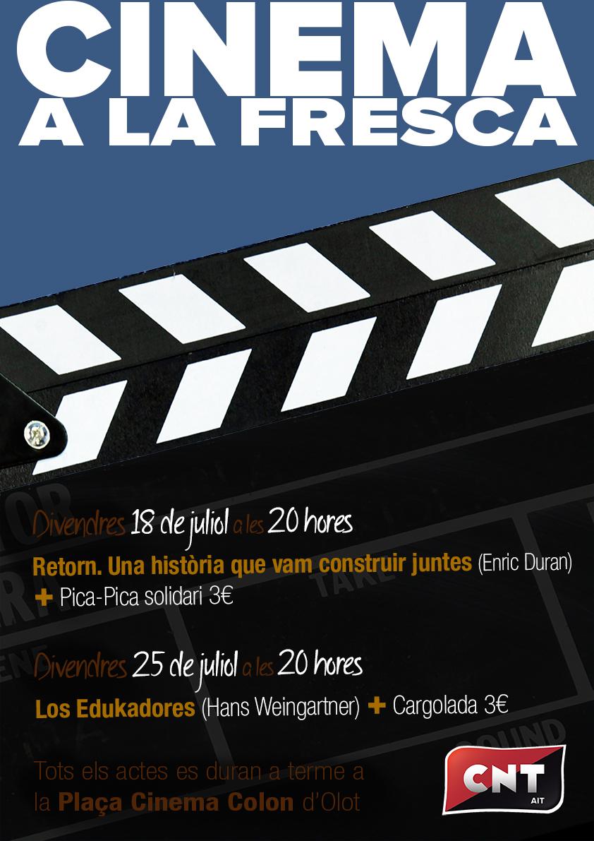 Cinema a la fresca 2014