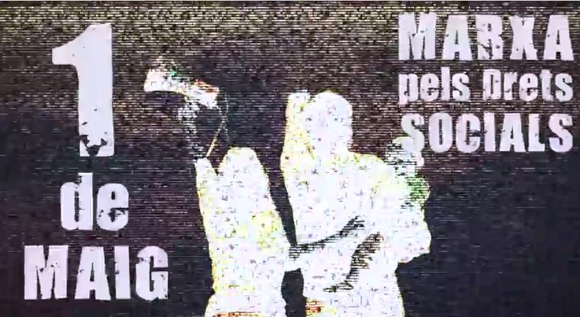 [Video] 1a Marxa pels Drets Socials a Olot. 1 Maig 2015.