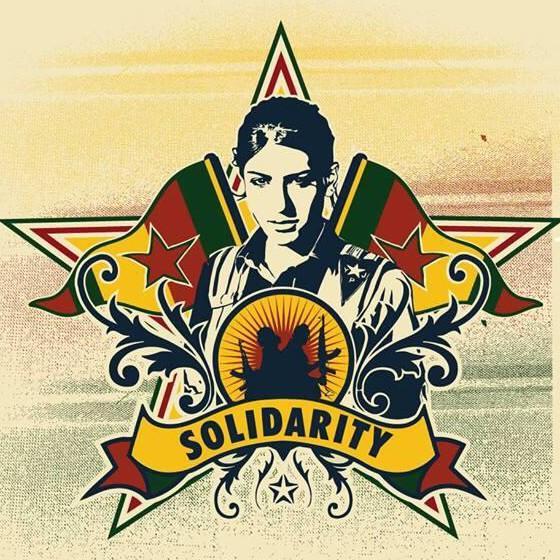 1er de Maig des de Kobane