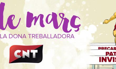 Manifest: La CNT davant el 8 de març