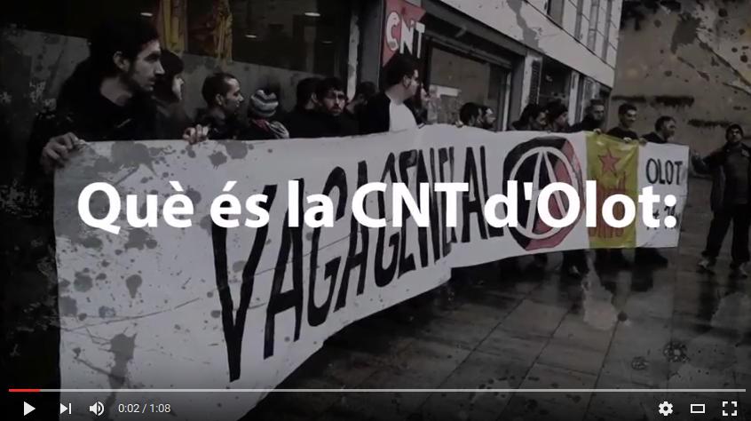 Vídeo: Què és la CNT d'Olot