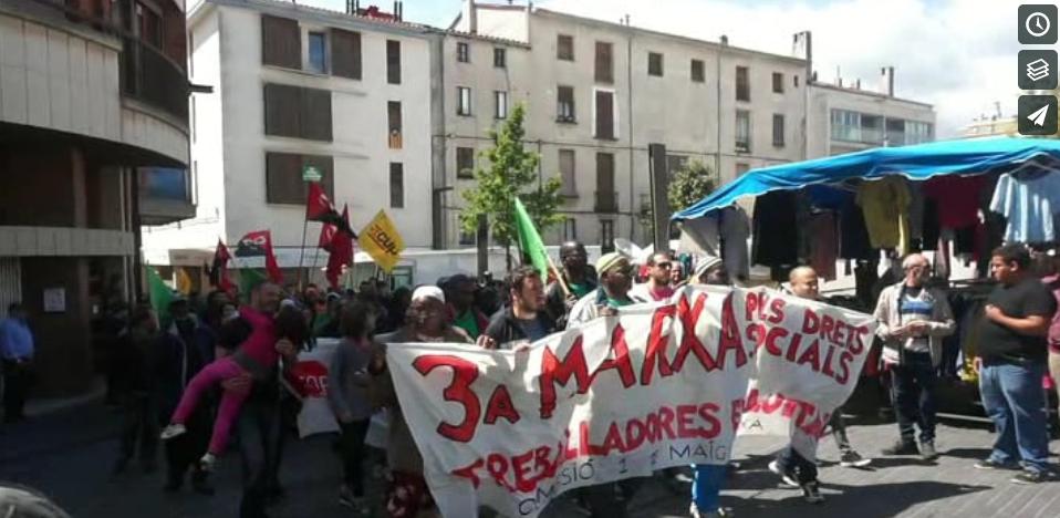 [Vídeo] 3ª Marxa pels Drets Socials