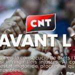 La CNT Olot s'adhereix a la Vaga General del 3-O