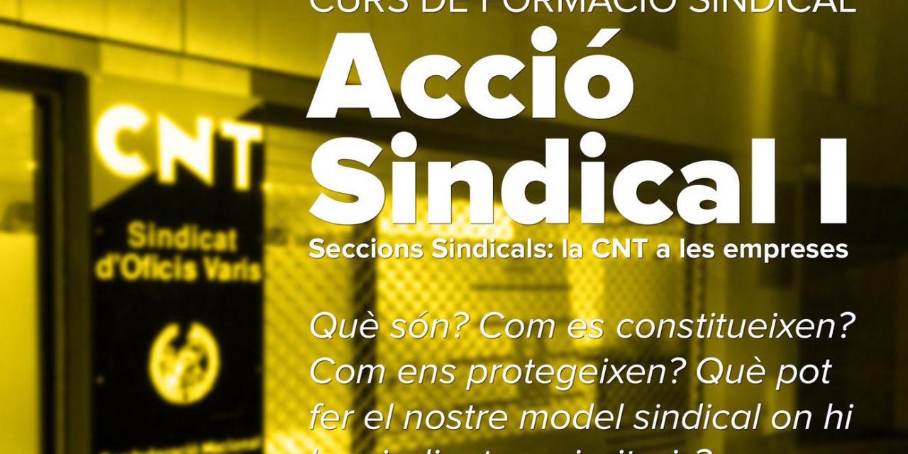 CURS DE FORMACIÓ SINDICAL