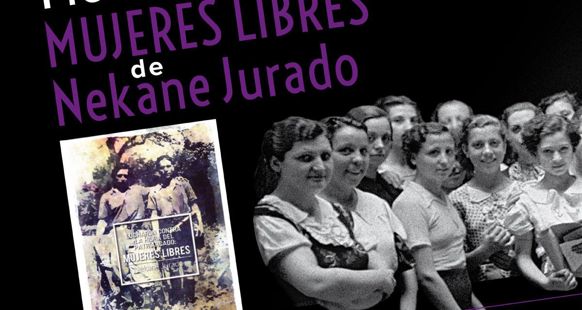 """PRESENTACIÓ DEL LLIBRE """"LUCHARON CONTRA LA HIDRA DEL PATRIARCADO: MUJERES LIBRES"""" DINS EL MARC DE L'EXPOSICIÓ"""