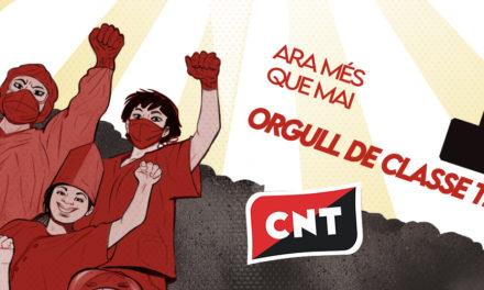 MANIFEST | 1 DE MAIG: ARA MÉS QUE MAI, ORGULL DE CLASSE TREBALLADORA